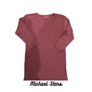 Michael Stars Shine Crew Neck Tee